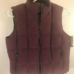 Express World   Reversible Vest  small down